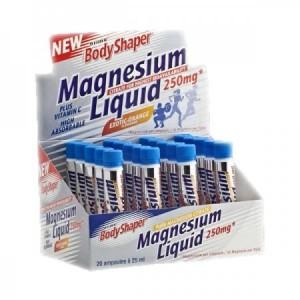 Weider BodyShaper Magnesium Liquid 20 Trinkampullen a 25ml Sonderposten!! MHD 28.02.2020!!