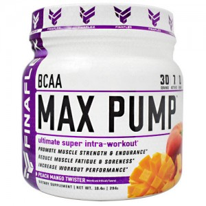 FINAFLEX BCAA MAX PUMP 294g Pulver Pre-Workout/Intra-Workout