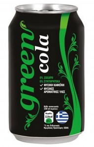 Green Cola 330ml Dose