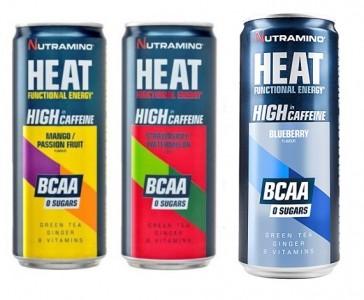 Nutramino Heat Bcaa Energy 330ml