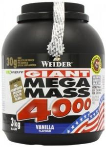 Weider Mega Mass 4000 Eimer 3000g Pulver