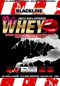 BlackLine 2.0 Honest Whey+ Milfy Whey Beutel 1000g Pulver