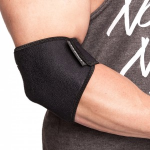 C.P. Sports Neopren-Ellenbogen-Stützbandage schwarz