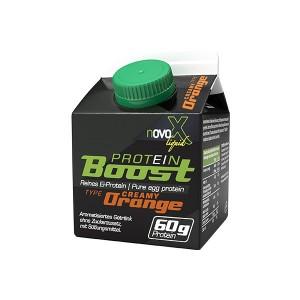 Novo X liquid Protein Boost 300ml 60g Protein reines Ei-Protein!