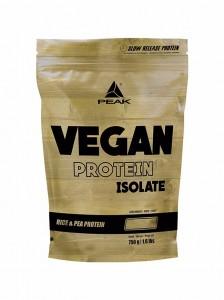 Peak Vegan Protein Isolat 750g Pulver Beutel