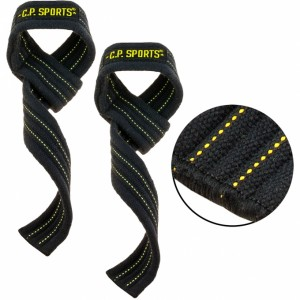 C.P. Sports Power Grip Zughilfen schwarz