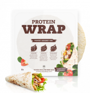 More Nutrition Total Wrap 320g, 8 vegane Wraps