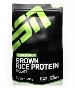 ESN Brown Rice Reis Protein Isolate Standbeutel 1000g Pulver