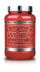 SCITEC NUTRITION 100% WHEY PROTEIN PROFESSIONAL Dose 920g Pulver