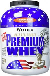 Weider Premium Whey Dose 2300g Pulver Zimtschnecke