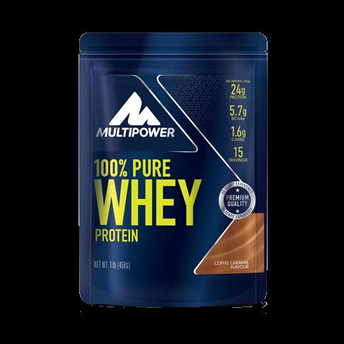 Multipower 100% Pure Whey Protein Beutel 450g Pulver