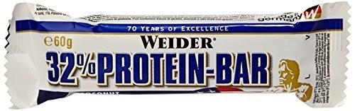 Weider 32% Protein Bar Riegel 60g Sonderposten Kirsch-Marzipan