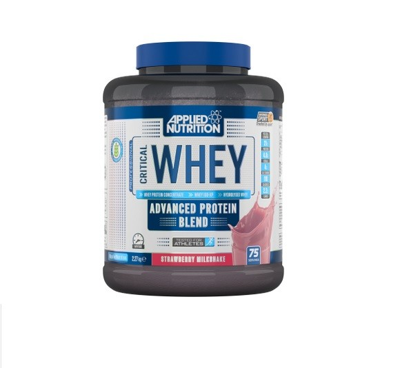 Applied Nutrition Critical Whey 2,27kg, mit Isolat & Hydrolysat! White Chocolate Raspberry