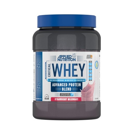 Applied Nutrition Critical Whey 900g, mit Isolat & Hydrolysat! Chocolate Milkshake