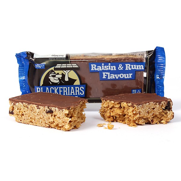 BLACKFRIARS Flapjack Haferriegel 110g Rum Raisin MHD 16.11.20!