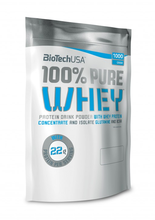 BioTechUSA 100% Pure Whey 1000g Pulver