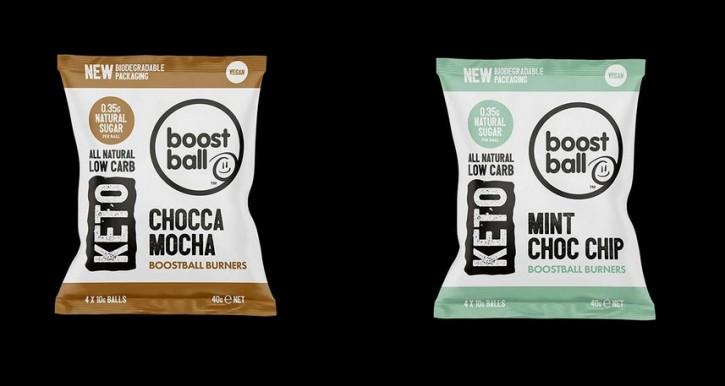 Boost Ball Burners 40g Keto Bällchen, vegan Mint Choc Chip