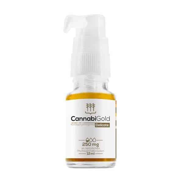 CannabiGold Delicate 250mg CBD 12ml Hanfsamenöl