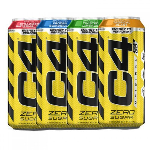 Cellucor C4 Original On The Go 473ml Pre-Workout Energy Drink Zero Sugar