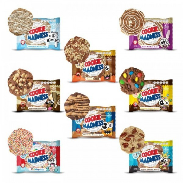 Madness Nutrition Cookie Madness 106g, 2 Protein Soft Cookies MHD 01/20! Banana Chunky Monkey