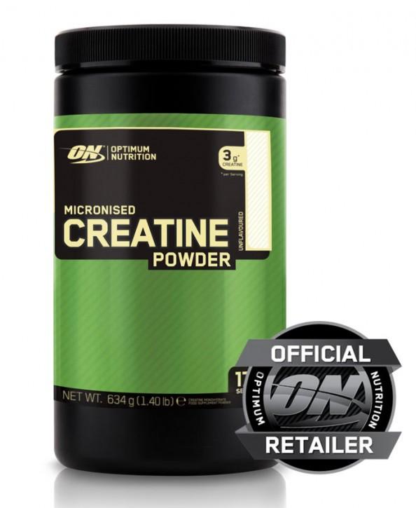 Optimum Nutrition Pure Micronised Creatine Powder 634g Dose