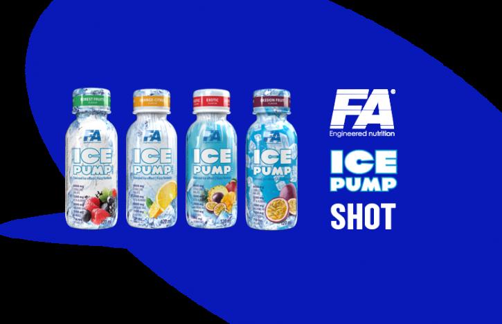 FA Nutrition Ice Pump Pre-Workout-Shot 120ml