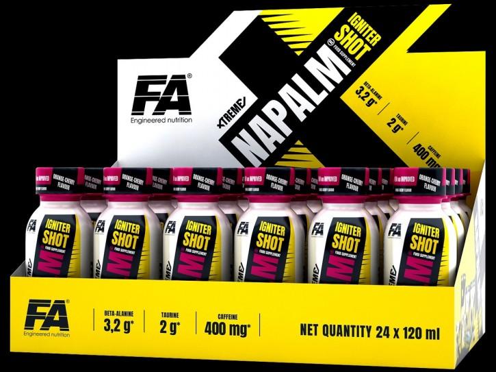 FA Nutrition Xtreme Napalm Igniter Shot 120ml