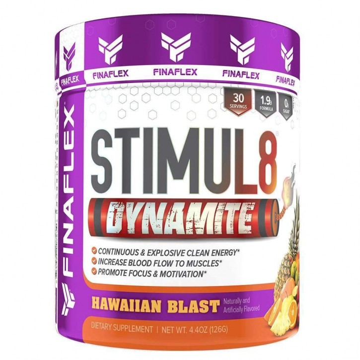 FINAFLEX Stimul 8 Dynamite 126g Pulver