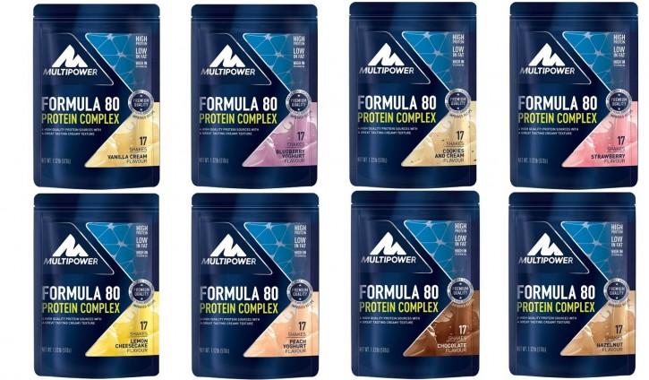Multipower Formula 80 Protein Complex Beutel 510g Pulver