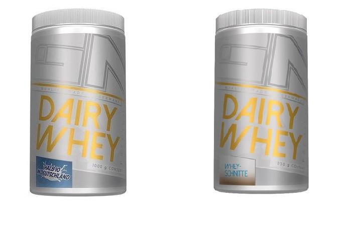 GN Laboratories Dairy Whey Premium 1000g Konzentrat mit 40% Isolat! Whey Schnitte