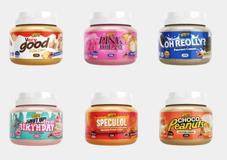 Max Protein WTF?! Protein Creme 250g Pink Dream