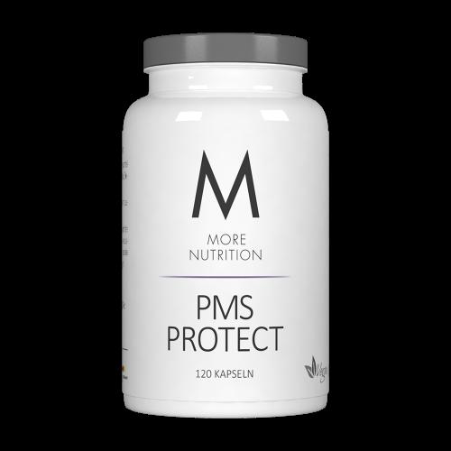 More Nutriton PMS Protect 120 Kapseln, L-Carnitin, Eisen & Mönchspfeffer