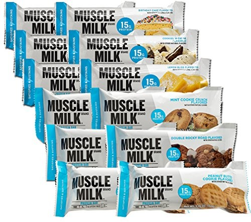 Muscle Milk Protein Bar 49-64g Riegel