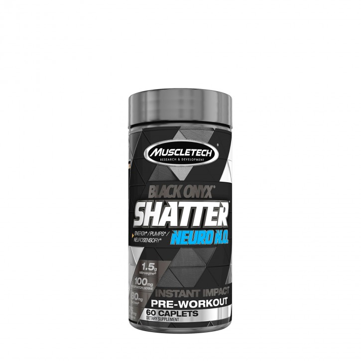 MuscleTech Black Onyx Shatter Neuro N.O. 60 Caplets
