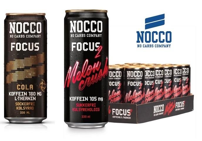 Nocco Focus Drink 330ml mit Koffein Raspberry Blast