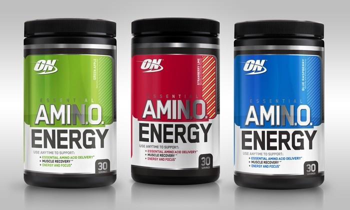Optimum Nutrition Essential Amino Energy 270g Dose Iced Tea