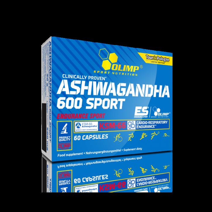 Olimp Ashwagandha 600 Sport 60 Kapseln, clinically proven! Indischer Ginseng