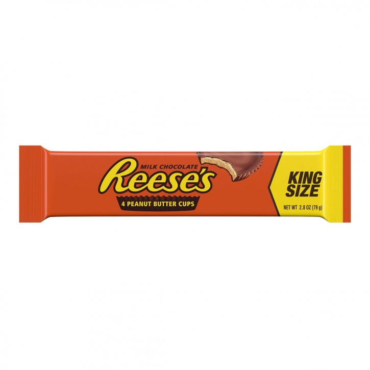 Reese's Milk Chocolate Peanut Butter Cups 4x 19,5g(79g), King Size