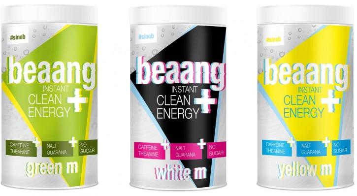 #Sinob beaang instant Clean Energy+ 300g Energydrinkpulver, 0 Zucker!