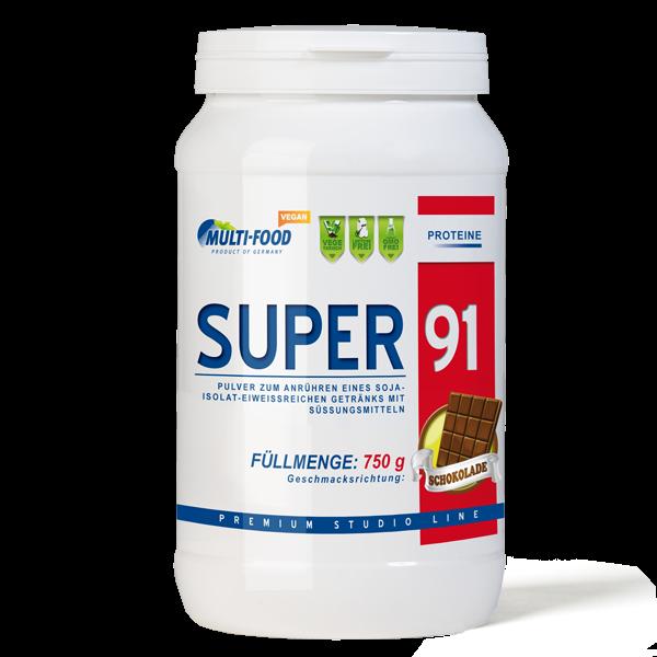 MULTI-FOOD Super 91 Dose 750g Pulver Sojaproteinisolat