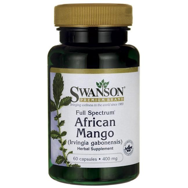 Swanson African Mango 60 Kapseln, Extrakt 400mg