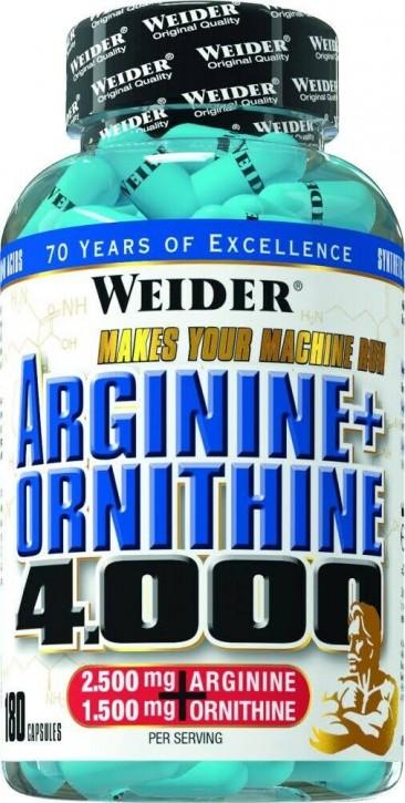 Weider Arginine + Ornithine 4.000 180 Kapseln Sonderangebot!