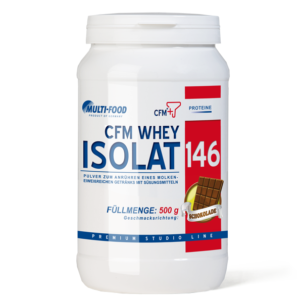 MULTI-FOOD CFM Whey-Isolat 146 Dose 500g Pulver
