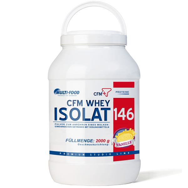 MULTI-FOOD CFM Whey-Isolat 146 Dose 2000g Pulver