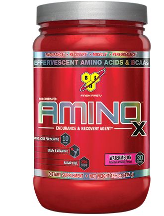 BSN AMINO X Dose 435g Pulver Green Apple