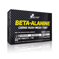 Olimp BETA-ALANINE CARNO RUSH MEGA TABS Blister 80 Tabletten