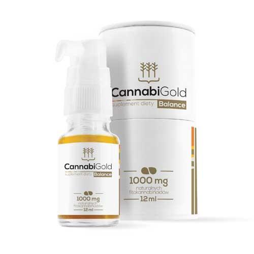 CannabiGold Balance 1000mg CBD 12ml Hanfsamenöl