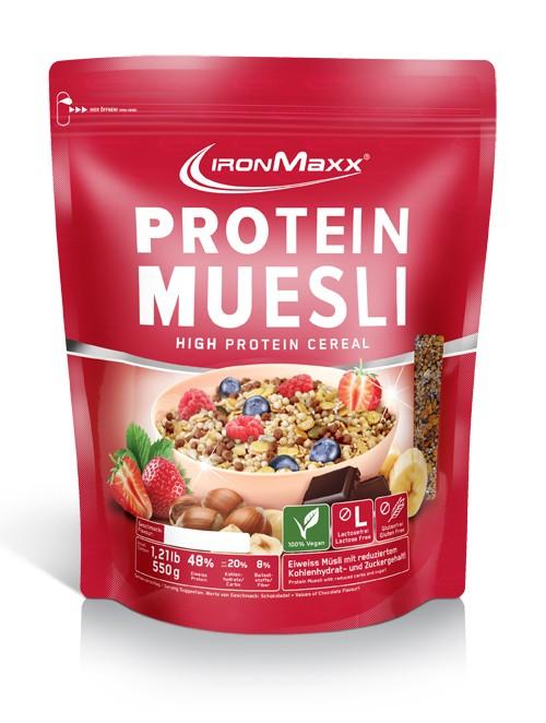 IronMaxx Protein Müsli Beutel 550g