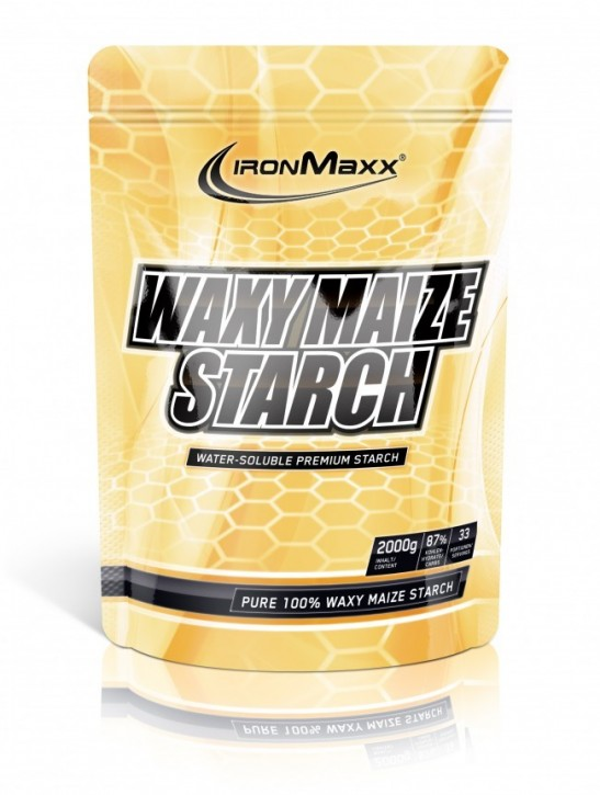 IronMaxx Waxy Maize Starch Beutel 2000g Pulver