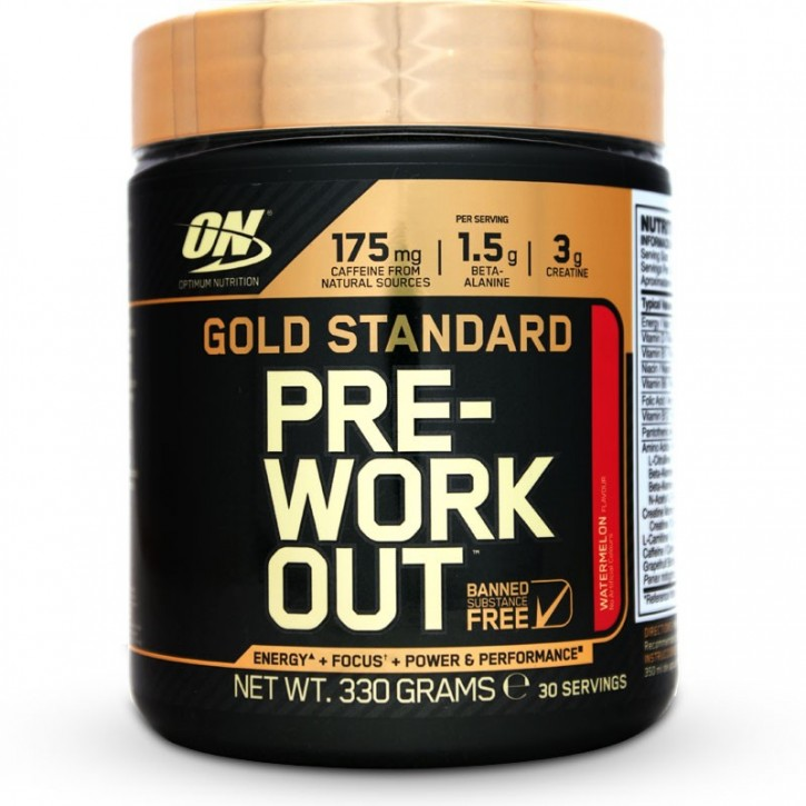 Optimum Nutrition Pre-Workout 330g Dose